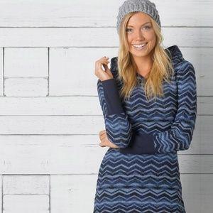 Prana Meryl Hooded Sweater Dress